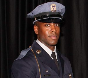 While Officer Jacai Colson lay dying, the gunman's two brothers coldly recorded Sunday's firefight on their cellphones. (PGCPD Image)