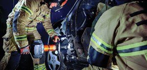 Not having the right tools with the capacity to overcome new materials can slow down the extrication. (image/Holmatro)