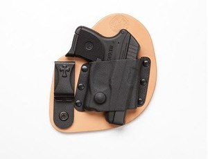 Crossbreed Microclip holster, one of the five comfortable IWB concealed carry holsters we've selected.