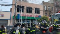 4 FDNY firefighters injured at commercial fire