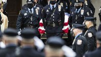 'This is not how we wanted to say goodbye': Police, family hold modified funeral for Philly cop