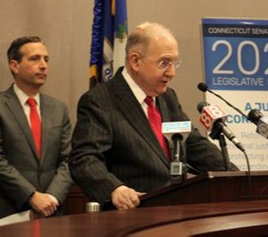 Senate President Pro Tem Martin M Looney's caucus proposed a new Connecticut State Police department focused on combating hate crimes and extremism.