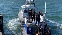 Calif. cop jumps in ocean, saves man from drowning