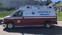 Police: Pa. man set fire to ambulance