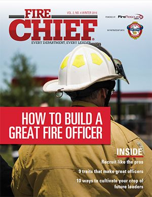 Fire Chief Digital Edition Winter 2016