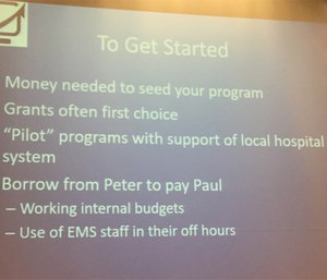 Community paramedicine programs are funded in many ways.