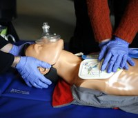 CPR, first aid courses training students to respond to emergencies