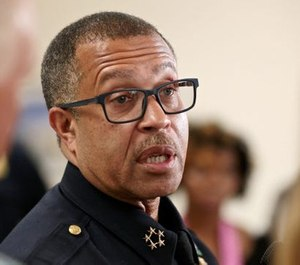 Detroit Police Chief James Craig was diagnosed with the coronavirus, which has spread through the department and put nearly 20% of officer in quarantine. (Photo/TNS)