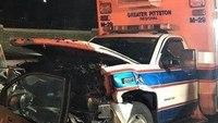 Man who crashed into ambulance, hurt 2 EMTs gets prison time