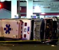 Good Samaritans help EMS crew after Conn. ambulance crash