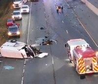 2 Ark. medics injured after wrong-way driver crashes into ambulance