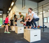 How CrossFit helps cops improve their physical health