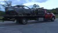 Police: Car catches fire during pursuit because driver was 'hoarding' gas