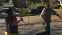 Video: Calif. deputy shoots, kills knife-wielding woman