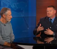Watch: Jon Stewart returns to 'Daily Show' to push 9/11 health act