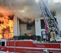 3 Dallas firefighters injured while battling 4-alarm blaze