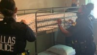 Cops buy bedding, food for mother of 6 who fled abusive spouse
