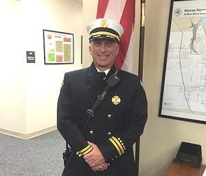 Battalion Chief David Dangerfield. (Photo/Facebook)