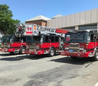 Mass. town orders thin blue line flags removed from fire trucks