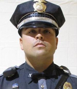 Officer Darian Jarrott was killed in the line of duty Feb. 4, 2021.