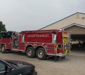 Davison-Richfield Fire Department Chief Brian Flewelling said increased medical calls have overwhelmed the department's budget for the last two years. (Photo/Davison-Richfield Fire Department Facebook)