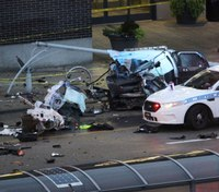 2 children killed, 10 hurt in crash with stolen police SUV