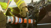 Extrication dilemma: Door hinge or latch attack?
