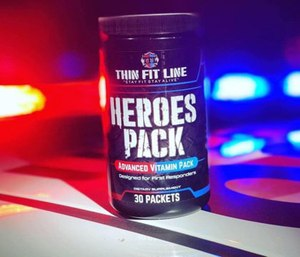 Thin Fit Line designed a supplement pack to help first responders stay healthy during long shifts. (Photo/Thin Fit Line)