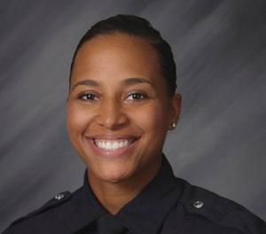 This June 14, 2018 file photo provided by the Indianapolis Police Department shows Indianapolis Police Officer Breann Leath. (Indianapolis Police Department via AP, File)