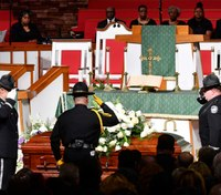 Family, friends bid goodbye to slain corrections administrator