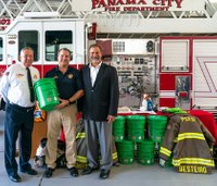 Fla. firefighters given cancer decontamination kits