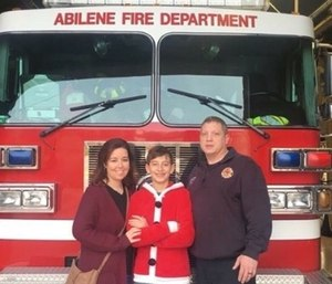 Abilene Fire Department Firefighter Mike Degering died from injuries he suffered in a motorcycle crash.