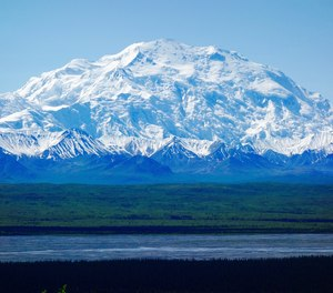 A Canadian man is in critical condition after falling nearly 1,000 feet down the Denali mountain in Alaska.