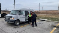 Deputies help buy van for mother who walked 6 miles to work