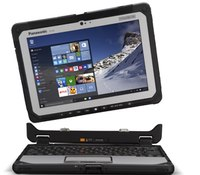 Panasonic launches rugged hybrid laptop with detachable tablet