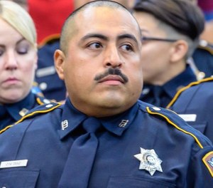 Pictured is Deputy Omar Diaz. (Photo/Harris County Sheriff's Office)