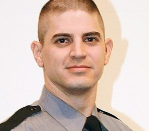 State police Cpl. Bryon Dickson was ambushed and murdered in 2014. His killer has been scheduled for execution. (Photo/ODMP)
