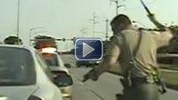Video: Officer mistakenly fires gun in bizarre Iowa pursuit