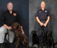 Ohio fire dept. announces graduation, retirement of arson K9 dogs