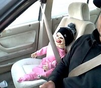 Creepy Halloween doll in carpool didn't trick Wash. cop