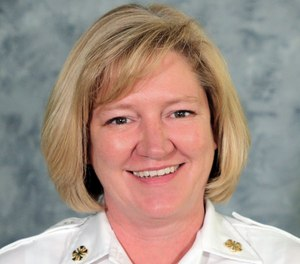 Kansas City Fire Chief Donna Maize became the first female fire chief in the department's 150-year history Wednesday. (Photo/City of Kansas City, Mo. Government Facebook)