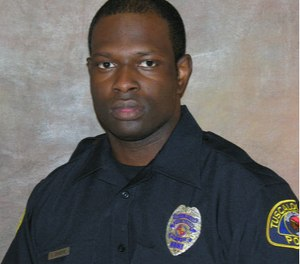 Officer Dornell Cousette. (Photo/Tuscaloosa Police)