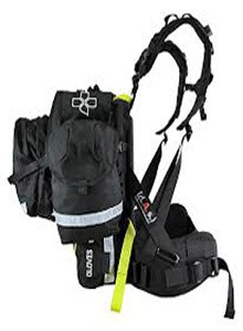 The FS-1 Mojave Wildland Fire Pack from Coaxsher has a modular design.
