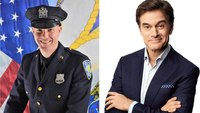 Dr. Oz helps police perform CPR on man who collapsed at airport