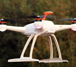 The drone is worth about $2,000 and has a camera and thermal-imaging capabilities. (Photo/Pixabay)
