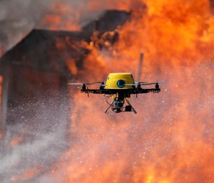 People caught flying a drone over a wildfire could face federal felony charges if a new bill is passed. (Photo/Creative Commons)