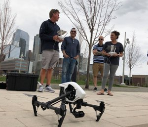 The grant will offer full or partial funding toward drone training for fire and police departments.