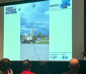 Presenters provided attendees with the latest research and real-world applications of drones in EMS, and how they could benefit public safety agencies in the future.