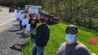 Corrections officer union protests transfer of inmates into W.Va.