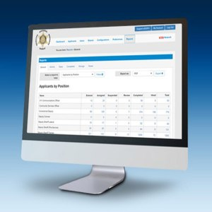 Automated reporting helps background investigators keep track of each applicant's progress and flag missing items in eSOPH.